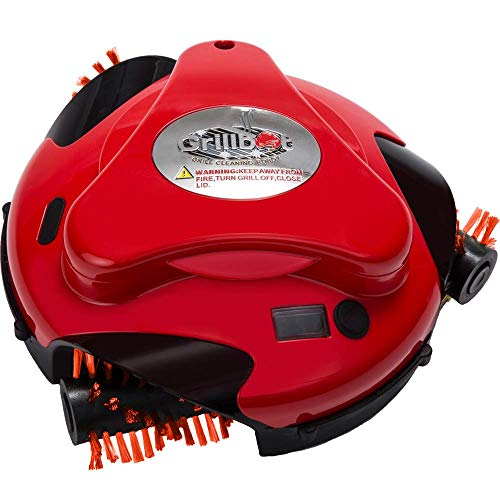 Grillbot Automatic Grill Cleaning Robot with Nylon Brushes -...
