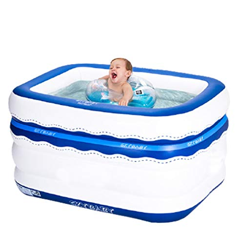LMJ Simplicity Kid Pools Inflable Piscinas Creatividad Creatividad Dual PROPÓSITO Piscina de Doble propósito para el Patio Trasero de la Familia Piscinas de la NFATIVA (Color : A)