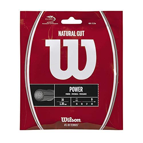 Wilson Natural Gut tennisracket, kleur (wrz999: set)