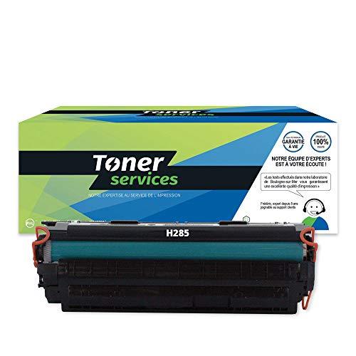 Toner Services CE285A - Tóner para Canon 725, color negro