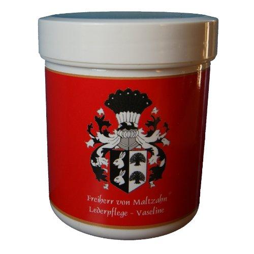 Freiherr von Maltzahn Lederfett, Lederpflege auf Vaseline-Basis, farblos, 100 ml