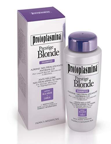 Protoplasmina Prestige Blonde 300ml Shampoo Azione Anti-Giallo per capelli biondi decolorati e con meches