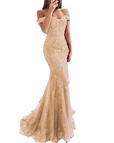 Gothic Elegant Lace Off the Shoulder Mermaid Wedding Dress