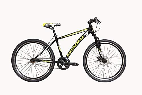 Hercules Roadeo Hank 2018 26T Single Speed Premium Geared Cycle(Black)