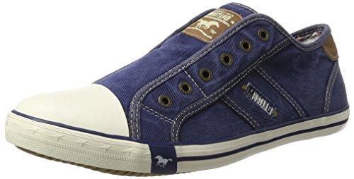 Mustang 4058-401-841, Herren Sneakers, Blau (841 jeansblau), 44 EU