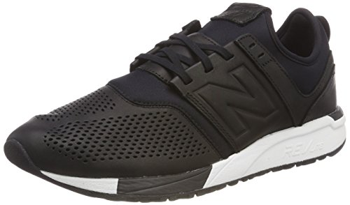 New Balance Mrl247ve, Sneaker Uomo, Nero (Black/White Ve), 41.5 EU