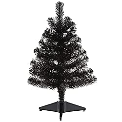 Mini black Halloween tree
