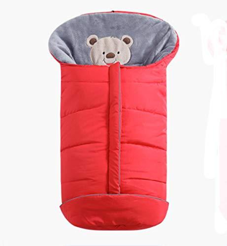 SMACO Winter Baby Slaapzakken Baby Cocoon Slaapzakken Zachte Warme Envelop voor Pasgeboren wandelwagen Slaapzakken met Voetenzak voor Pram