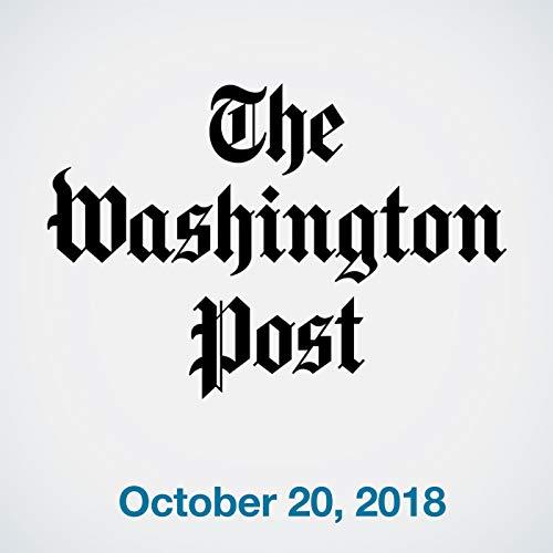 October 20, 2018 copertina