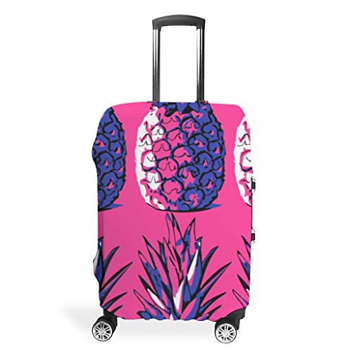 Zhcon Travel Bagage Covers Mode Spandex Reizen Bagage Koffer Cover Stofdichte Anti-dief Bagage Covers Ananas Fruit Print
