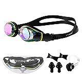 YTSWIM Open Water Swim Goggles, Adult Goggles Swimming, Anti Fog Swimming Glasses for Women, Men