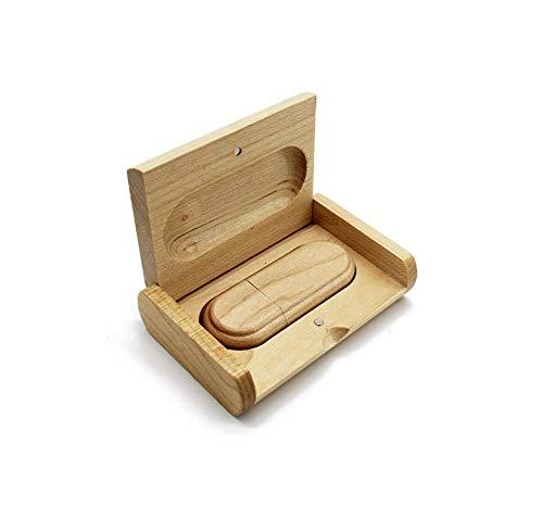 Anloter Maple Wooden 4GB USB2.0 pen drive 4GB 8GB 16GB 32GB 64GB 128GB (4GB, USB 2.0)