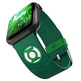DC Comics - Linterna verde táctica Smartwatch Band - Licencia oficial, compatible con Apple Watch (no incluido) - Se adapta a 38 mm, 40 mm, 42 mm y 44 mm