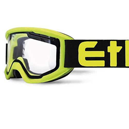 Ethen Gafas/Máscara de Ciclismo, Motocross y Enduro, Sistema de Ventilación que Permite...