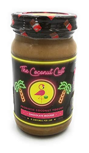 The Coconut Cult, Yogurt Coconut Chocolate Mousse, 8 Fl Oz