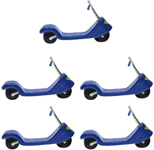 JeeKoudy Modelo de Scooter en Miniatura de 5 Piezas
