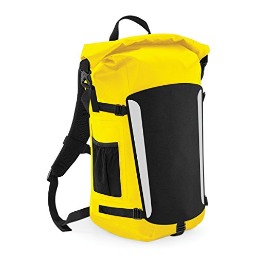 Quadra Wasserdichter Rucksack - Yellow/Black
