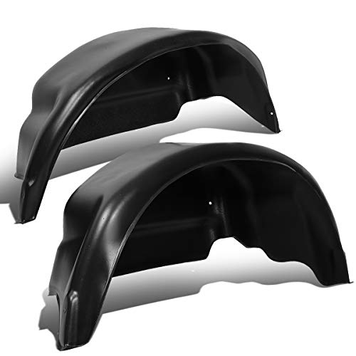 Pair Rear Wheel Well Guard Covers Inner Fender Mud Flaps Compatible with Ford...