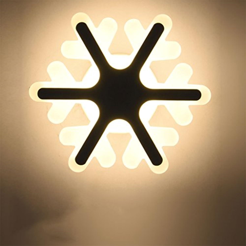 Wandleuchte WYQLZ Kreative Persnlichkeit Schlafzimmer Nacht Cartoon Schneeflocke Kinderzimmer Dekoration Nachtlicht, Hochwertige dekorative Beleuchtung