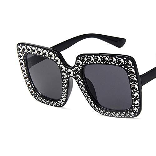 Gafas de Sol Gafas De Sol Cuadradas Grandes con Diamantes De Imitación...