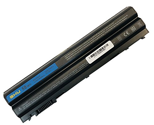 New GHU 58Wh Battery T54FJ M5Y0X 312-1163 HCJWT NHXVW PRRRF Compatible with Dell Latitude E5420 E5430 E5520 E5530 E6420 E6430 E6440 E6520 E6530 E6540 YKF0M X57F1 04NW9 8858X P8TC7 T54F3 8858X N3X1D