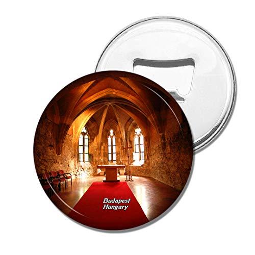 Weekino Ungarn Innenkirche Budapest Bier Flaschenöffner Kühlschrank Magnet Metall Souvenir Reise Gift