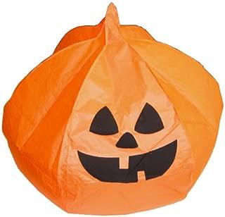 Halloween Pumpkin Orange Jack-O-Lantern Sky Lantern (Set of 5) - Flying Chinese Sky Lanterns by Just Artifacts