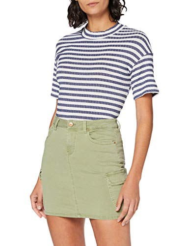 Only Onlmissouri Life RG Cargo Skirt Pnt Noos Falda, Aceite Verde, 36 para Mujer