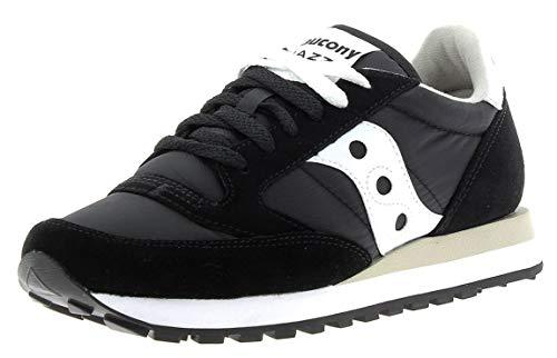 Saucony Men's Shadow Original, Zapatillas para Correr Hombre, Negro/Blanco, 40 EU