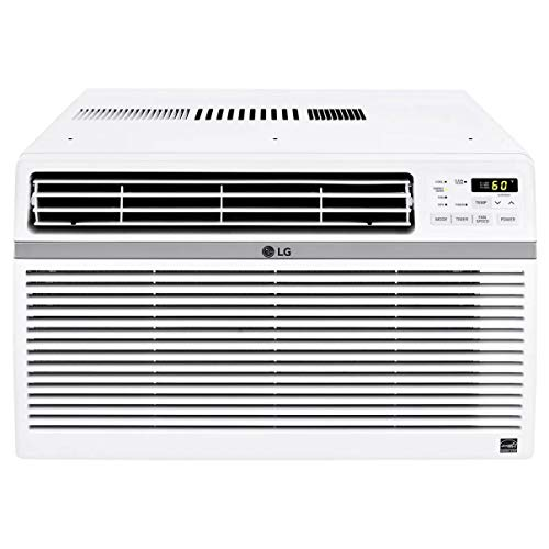 LG LW8016ER 8,000 BTU 115V Window-Mounted AIR Conditioner with Remote Control (Renewed)