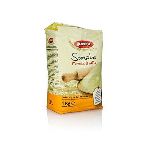 Granoro Semola di grano duro / Hartweizengrieß gemahlen 1 kg.