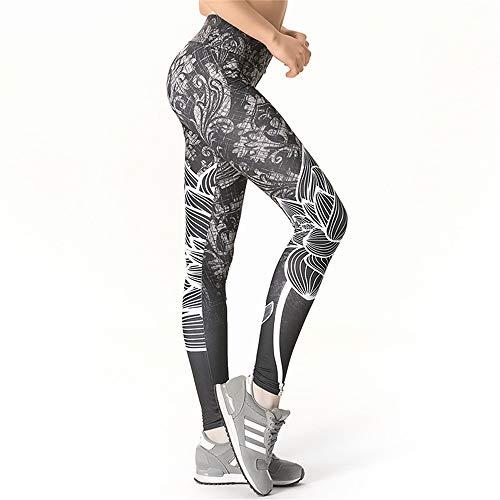 Zjcpow - Pantalones de yoga para mujer, ajustados, cintura alta, para pilates, fitness, gimnasio, entrenamiento, deportes, adelgazamiento, para ejercicio diario, Seda de leche, Large