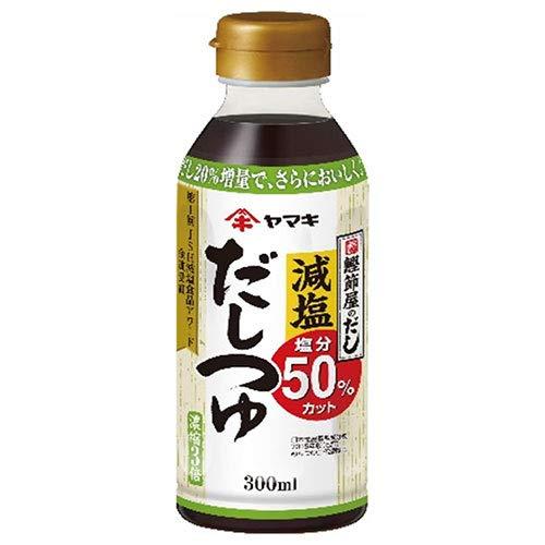 ヤマキ 減塩だしつゆ 300mlペットボトル×12本入×(2ケース)