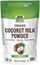 Now Foods Organic Coconut Milk Powder, Dairy Free, Just Add Water, 12 Ounce
