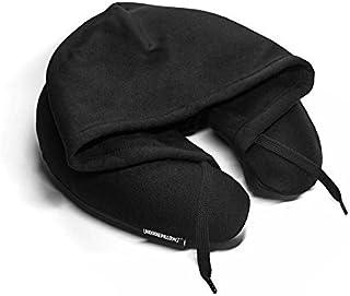 HoodiePillow? Brand (Inflatable) Travel Pillow - Black