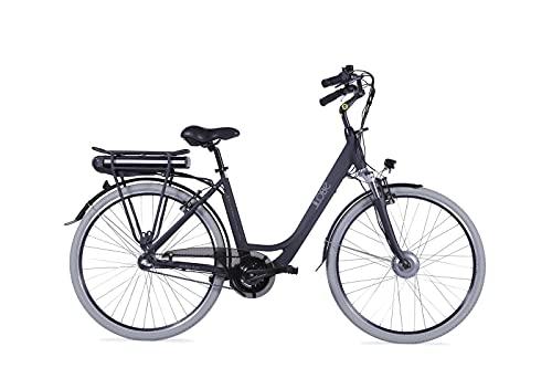 LLOBE City E-Bike Metropolitan Joy schwarz, 28 Zoll, Akku 36V / 8Ah, 250 Watt Motor