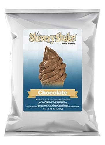 ShiveryShake Chocolate Soft Serve Ice Cream Mix