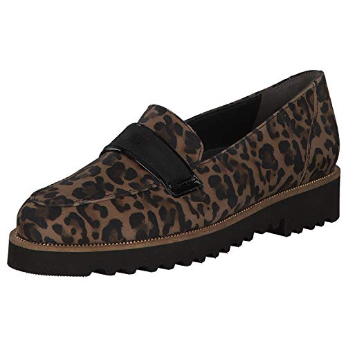 Paul Green Damen Slipper 2543-015 Animal 710629