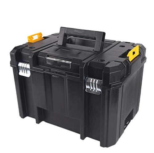 Caja de herramientas Traba la tapa 17' Almacenamiento y Caja de herramientas for la herramienta o embarcaciones de almacenamiento, accesorios de hardware y caja de almacenamiento Almacenamiento extra