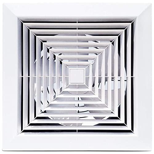QZH Ventilador de Pedestal, Ventilador de ventilación, Ventilador montado en la Pared Ventilador Ventilador de Escape de Aire inverso Ventiladores Ventilador de baño de bajo Ruido
