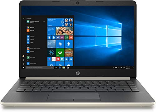 "HP 2019 14"" Laptop - Intel Core i3 - 8GB Memory - 128GB Solid State Drive - Ash Silver Keyboard Frame (14-CF0014DX)"