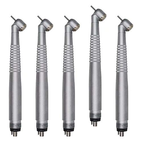 45 Degree Anti-Slip Design Silver High Swivel 4 holes Appliance(pack of 5)