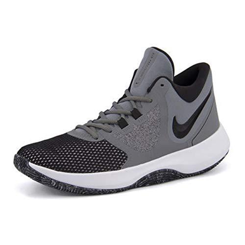 Nike Mens AIR Precision NBK Cool Grey Black White Size 7