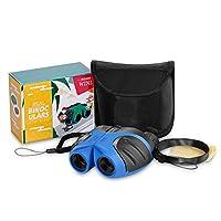 JRD&BS WINL Geschenke für Teenager-Mädchen, 8x21 Kompakte Fernglas für Kinder Spielzeug für 3-12 Jahre Alte Mädchen,Spielzeug für 4-9 jährige Jungs,Geschenke Für Kinder (Blau)