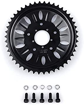 BAFANG Ebike Chainwheel with Plastic Guard 40T 42T 44T 46T 48T 52T Chain Wheel for BBS01 BBS02 BBSHD Mid Drive Motor Chain Sprocket for Electric Bike Coversion Kits