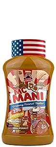 Max Protein Mc Mani, Crema de Cacahuete, Sabor Intenso, 500 gr