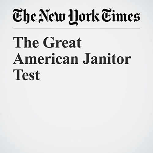 The Great American Janitor Test copertina