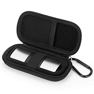 Case for AliveCor KardiaMobile 6L Wireless 6-Lead EKG, Protective Cover Storage Bag (Black)