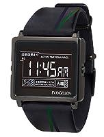 [エプソン] 腕時計 スマートキャンバス エヴァンゲリオン W1-EV10110 Type:NERV ネルフ