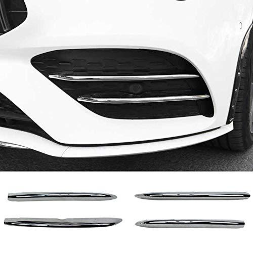 YJSZJY Lámparas Frontales De Niebla Cubierta De Cubierta, Listones Etiquetas Etiqueta Decoración Stripes para Mercedes -Benz C Clase CLA C118 CLA200 260 2020 + Chro